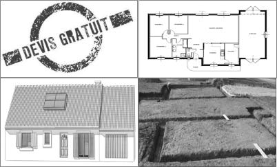 les diff rentes tapes de constructions d 39 une maison. Black Bedroom Furniture Sets. Home Design Ideas