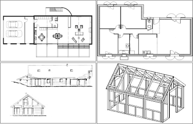 Les l ments cl s d 39 un plan de construction d 39 une maison devis construction maison - Plan de construction d une maison ...
